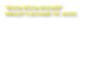 """Boom Boom Boomer""