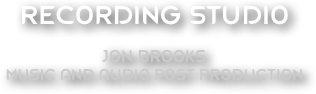 RECORDING STUDIO